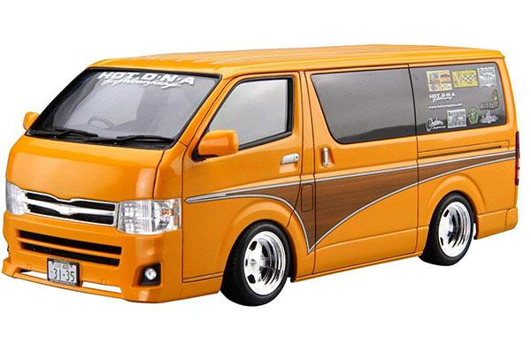 ザ・チューンドカー No.11 1/24 ホットカンパニー TRH200V ハイエース '12 (トヨタ) プラモデル[アオシマ]《発売済・在庫品》