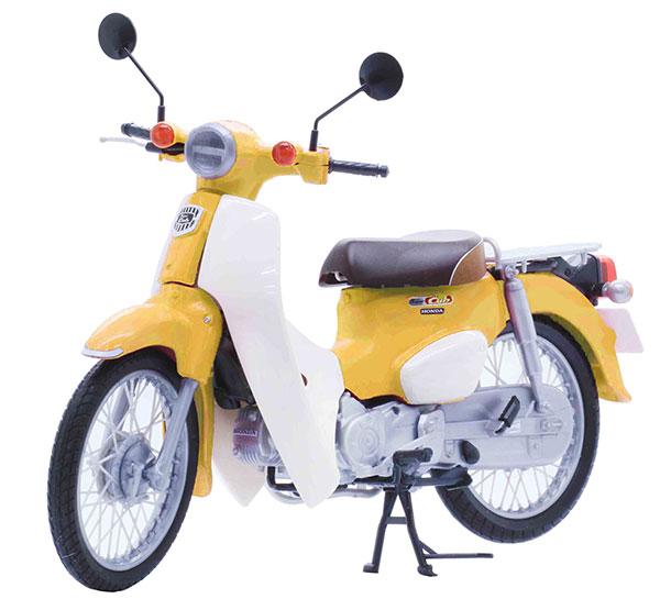 1/12 NEXTシリーズ No.1EX-5 ホンダ スーパーカブ110(パールフラッシュイエロー) プラモデル[フジミ模型]《発売済・在庫品》