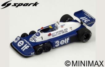 1/18 Tyrrell P34 No.3 Brazilian GP 1977 Ronnie Peterson[スパーク]《在庫切れ》