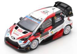 1/43 TOYOTA Yaris WRC TOYOTA GAZOO Racing WRT No.17 2nd Rally Monte Carlo 2020 S. Ogier - J. Ingrassia[スパーク]《07月仮予約》