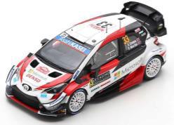 1/43 TOYOTA Yaris WRC TOYOTA GAZOO Racing WRT No.33 3rd Rally Monte Carlo 2020 E. Evans - S. Martin[スパーク]《09月仮予約》