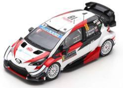 1/43 TOYOTA Yaris WRC TOYOTA GAZOO Racing WRT No.18 Rally Monte Carlo 2020 T. Katsuta - D. Barritt[スパーク]《09月仮予約》