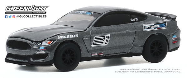 1/64 2016 Ford Mustang Shelby GT350 - Ford Performance Racing School GT350 Track Attack #21 - Magnetic[グリーンライト]《09月仮予約》