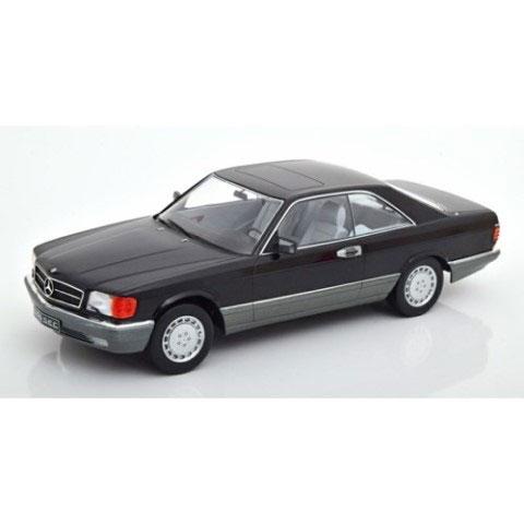 1/18 Mercedes 560 SEC C126 1985 black[KKスケール]《07月予約》