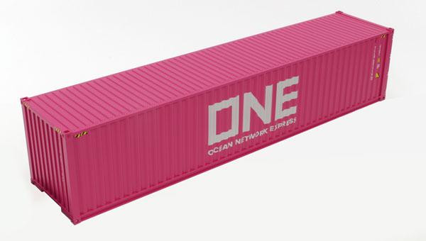 1/50 40フィート海上コンテナ ONE(Ocean Network Express)[ケンクラフト]《在庫切れ》