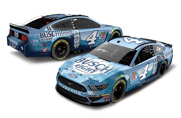 """1/24 """"ケヴィン・ハーヴィック""""BUSCHHHHH ライト ビール フォード マスタング NASCAR 2020 [フードオープン][Lionel Racing]《在庫切れ》"""