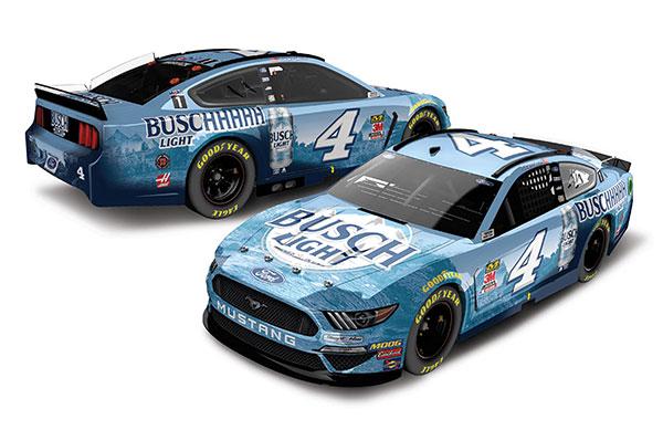 """1/24 """"ケヴィン・ハーヴィック""""BUSCHHHHH ライト ビール フォード マスタング NASCAR 2020 [エリート][Lionel Racing]《在庫切れ》"""