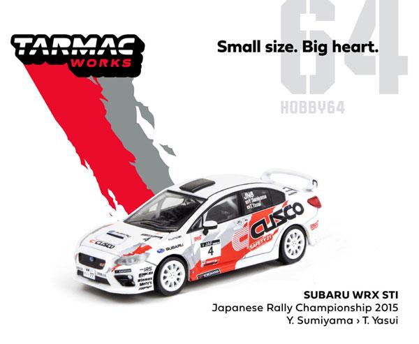 1/64 Subaru WRX STI Japanese Rally Championship 2015[Tarmac Works]《11月予約》