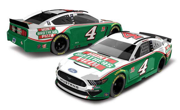"""1/64 """"ケヴィン・ハーヴィック"""" ハントブラザーズピザ フォード マスタング NASCAR 2020[Lionel Racing]《在庫切れ》"""