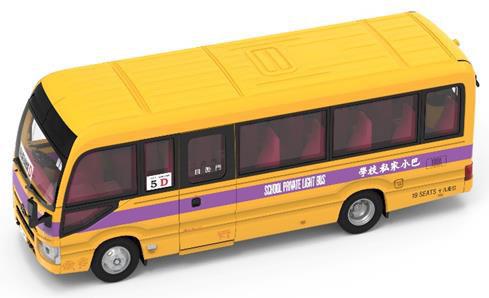Tiny City No.182トヨタ コースター スクールバス (19-seats)[TINY]《07月仮予約》