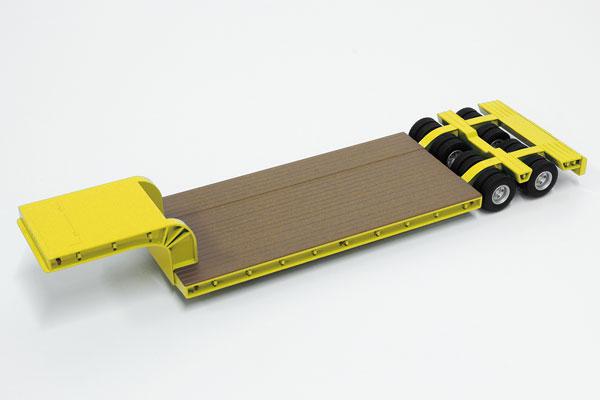 1/50 16輪 中低重量物運搬用トレーラ イエロー[ケンクラフト]《在庫切れ》