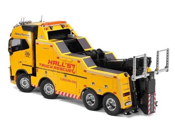 1/14電動RCトラック ボルボ FH16 グローブトロッター 750 8×4 レッカートラック[タミヤ]【送料無料】《07月仮予約》