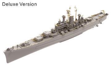 1/700 米海軍重巡洋艦 USS デモイン CA-134 (DX版) プラモデル[Very ...