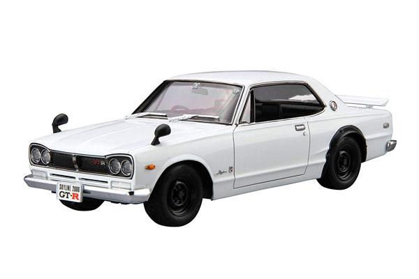 ザ・モデルカー No.26 1/24 ニッサン KPGC10 スカイラインHT2000GT-R '71 プラモデル[アオシマ]《在庫切れ》