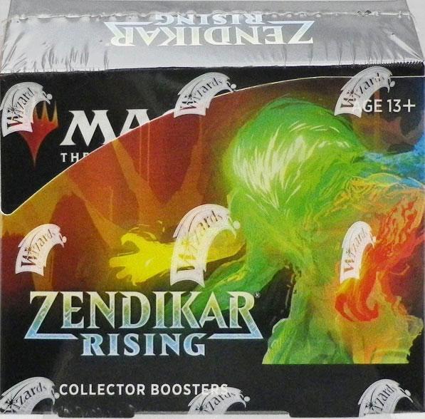 マジック:ザ・ギャザリング ゼンディカーの夜明け コレクター・ブースターパック 英語版 BOX[Wizards of the Coast]【送料無料】《在庫切れ》