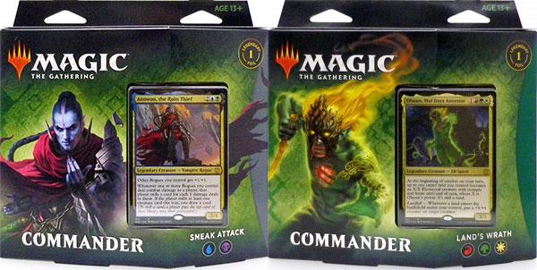 マジック:ザ・ギャザリング ゼンディカーの夜明け 統率者デッキ 英語版 2種セット[Wizards of the Coast]《発売済・在庫品》