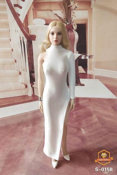 1/6 セクシー ウーマンズ イブニングドレス ロングスカート B (ドール用)[SGトイズ]《09月仮予約》