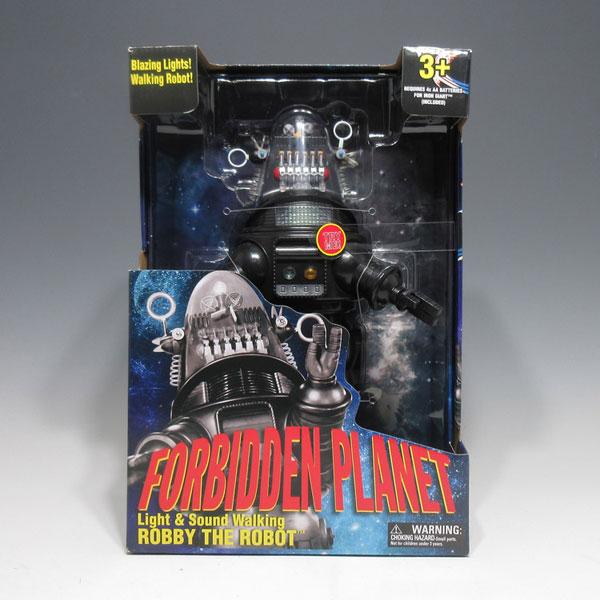 ロビー・ザ・ロボット『禁断の惑星』 ライト&サウンド ウォーキング (米ウォルマート限定)[GOLDLUK]《在庫切れ》