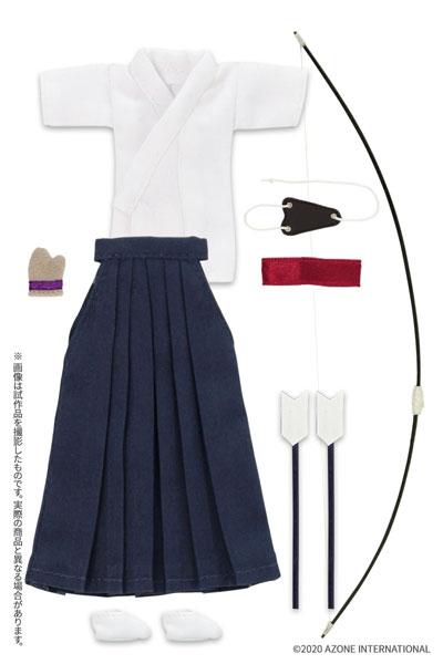 ピコニーモ用 1/12 弓道着セット 白×紺 (ドール用)[アゾン]《発売済・在庫品》