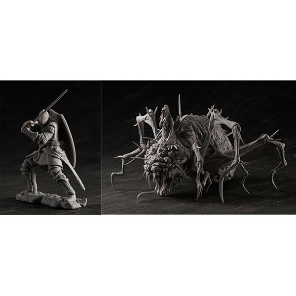 ゲームピースコレクション DARK SOULS 上級騎士&混沌の魔女クラーグ 無塗装組立てキット[メガハウス]《発売済・在庫品》