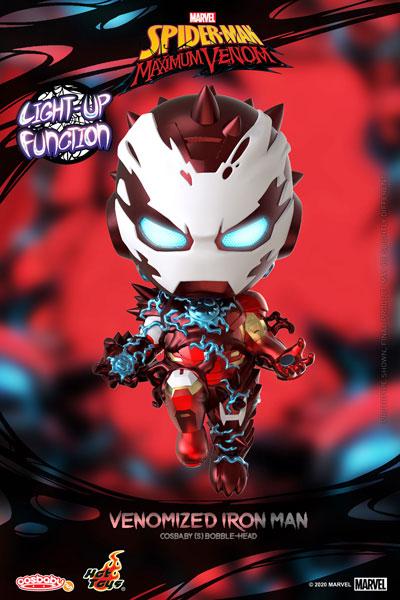 コスベイビー 『スパイダーマン:マキシマム・ヴェノム』[サイズS]アイアンマン(ヴェノム版)[ホットトイズ]《在庫切れ》