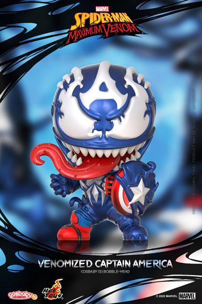 コスベイビー 『スパイダーマン:マキシマム・ヴェノム』[サイズS]キャプテン・アメリカ(ヴェノム版)[ホットトイズ]《11月仮予約》