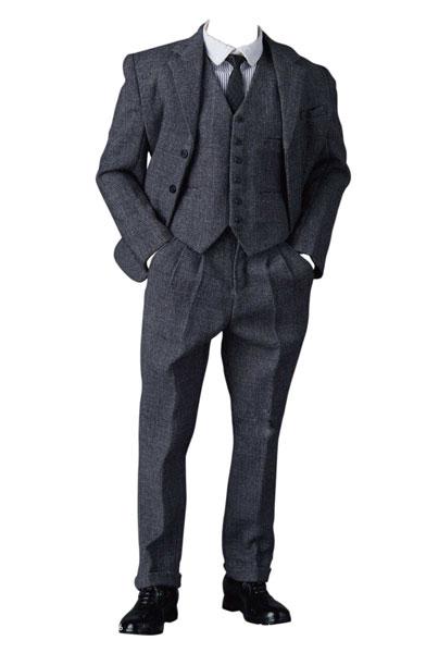 【特典】1/6 男性用 クラシック ギャングスター スーツ B (ドール用)[PPトイズ]《12月予約》