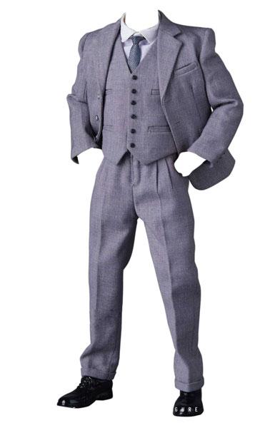 【特典】1/6 男性用 クラシック ギャングスター スーツ D (ドール用)[PPトイズ]《12月予約》