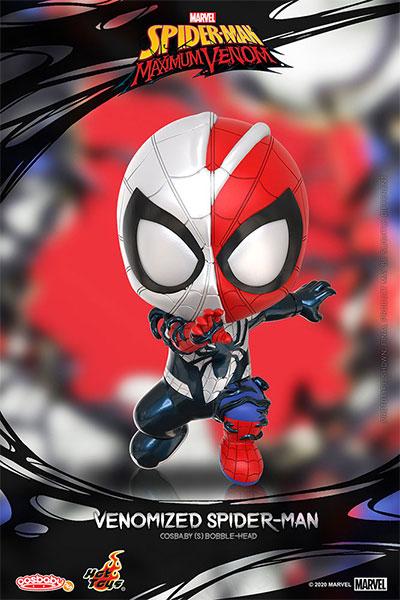 コスベイビー 『スパイダーマン:マキシマム・ヴェノム』[サイズS]スパイダーマン(ヴェノム版)[ホットトイズ]《在庫切れ》