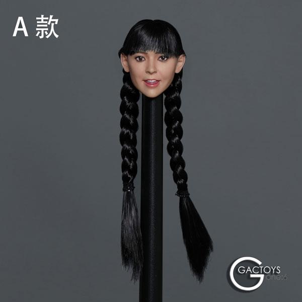 1/6 アジア美女ヘッド 038 A[GACトイズ]《09月仮予約》