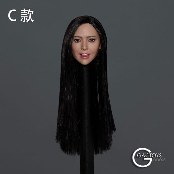 1/6 アジア美女ヘッド 038 C[GACトイズ]《09月仮予約》