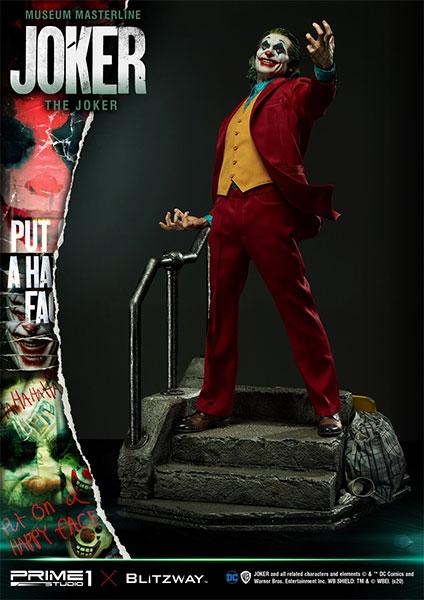 ミュージアムマスターライン/ JOKER: ジョーカー 1/3 スタチュー 通常版[プライム1スタジオ]【同梱不可】【送料無料】《在庫切れ》