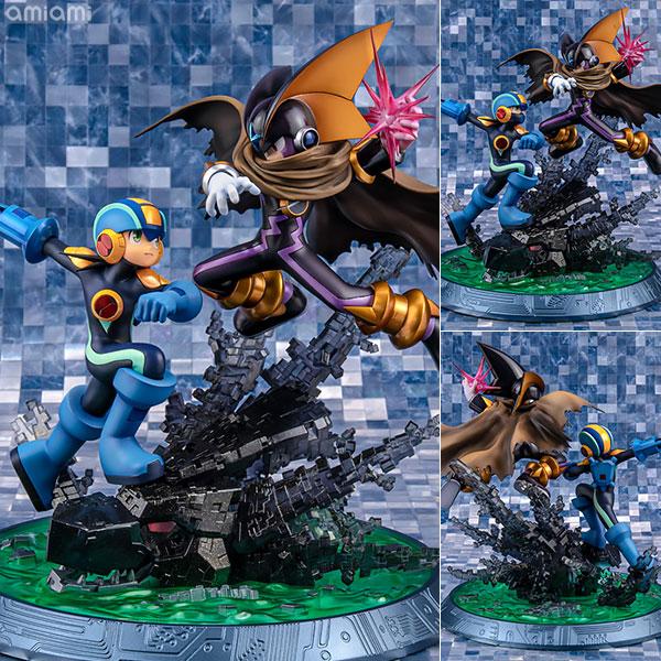 【限定販売】ゲームキャラクターズコレクションDX ロックマン エグゼ ロックマン vs フォルテ 完成品フィギュア[メガハウス]《在庫切れ》