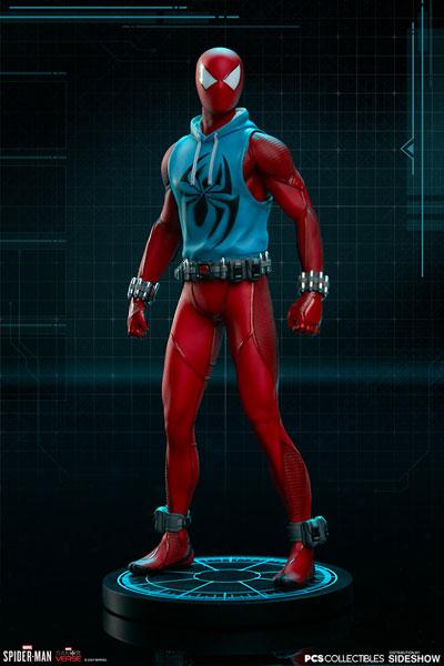 Marvel Spider-Man/ スパイダーマン スカーレットスパイダー 1/10 スタチュー[ポップカルチャーショック]《在庫切れ》
