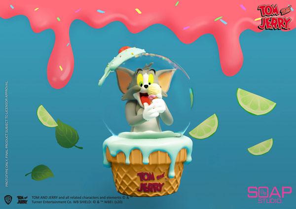『トムとジェリー』スノーグローブ トム(アイスクリーム)[ソープスタジオ]《在庫切れ》