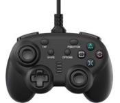 ワイヤード コントローラー ミニ ブラック (PS4/Switch用)[サイバーガジェット]《発売済・在庫品》