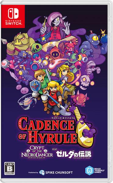 Nintendo Switch ケイデンス・オブ・ハイラル:クリプト・オブ・ネクロダンサー feat. ゼルダの伝説[スパイク・チュンソフト]《発売済・在庫品》