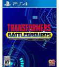 PS4 北米版 Transformers: Battlegrounds[Outright Games]《10月予約》