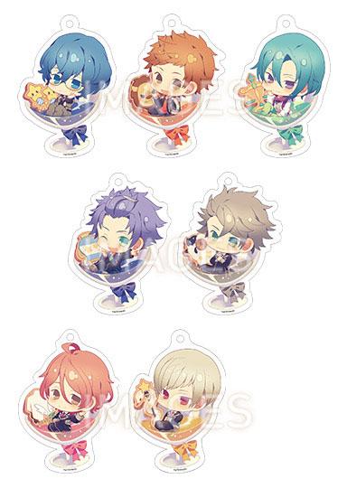 Starry☆Sky ちゃぽんっ! アクリルストラップコレクション Autumn&Winter ver. 7個入りBOX[一二三書房]《08月予約》