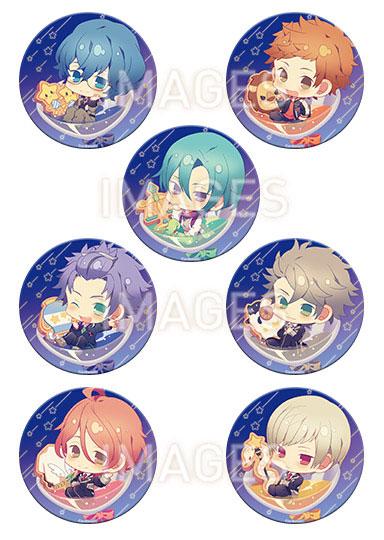 Starry☆Sky ちゃぽんっ! 76mm缶バッジコレクション Autumn&Winter ver. 7個入りBOX[一二三書房]《08月予約》