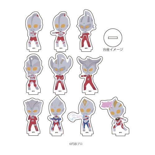 アクリルぷちスタンド「ウルトラマンシリーズ」01/ぽすてる 10個入りBOX[A3]《在庫切れ》