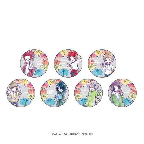 缶バッジ「K SEVEN STORIES」14/グラフアート 梅雨ver.吠舞羅&jungle 7個入りBOX[A3]《08月予約》