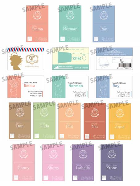 コレクションカード 約束のネバーランド 6個入りセット[ベルハウス]《在庫切れ》