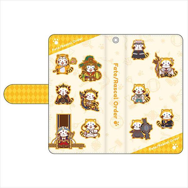 Fate/Grand Order -絶対魔獣戦線バビロニア-×ラスカル 手帳型スマートフォンケース Fサイズ[キャラバン]《09月予約》
