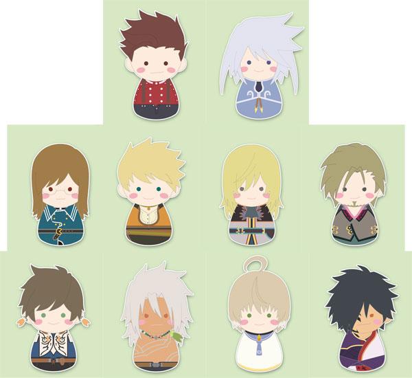 esシリーズnino FUKUBUKU COLLECTION 『テイルズ オブ』シリーズ トレーディングマスコット vol.5 10個入りBOX[コトブキヤ]《02月予約》
