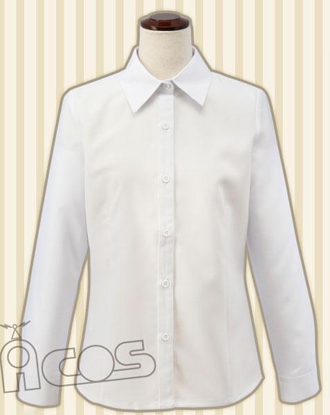 ACOSオリジナル 女子Yシャツ(白) M(再販)[ACOS]《在庫切れ》