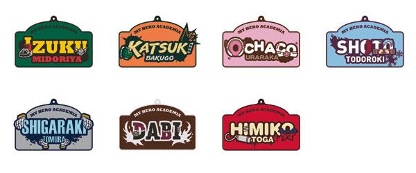 僕のヒーローアカデミア ラバーストラップコレクション 7個入りBOX[ムービック]《10月予約》