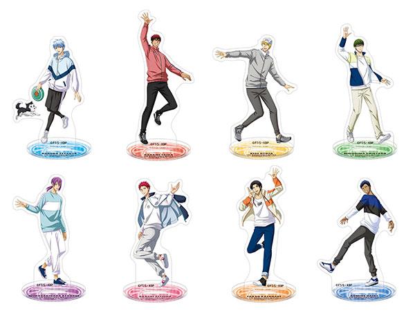 黒子のバスケ アクリルスタンドコレクション 8個入りBOX[ムービック]《在庫切れ》