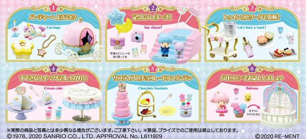 リトルツインスターズ Twinkle ☆ Party 6個入りBOX (食玩)[リーメント]《11月予約》
