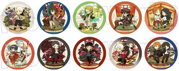 文豪ストレイドッグス キャラクタークロニクル トレーディング缶バッジ 10個入りBOX[フロンティアワークス]《在庫切れ》